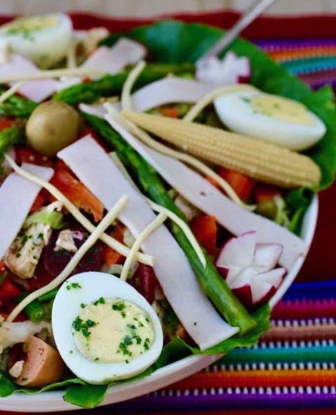 8 салатов фиамбре