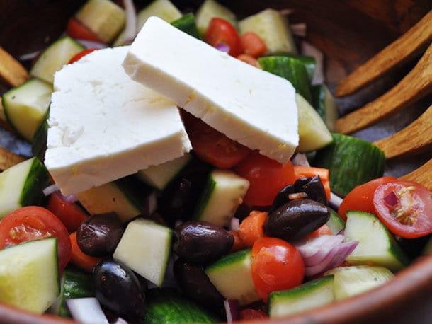 8 салатов хариатики
