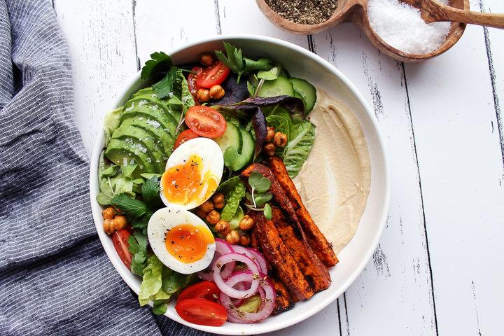 Средиземноморский салат на завтрак