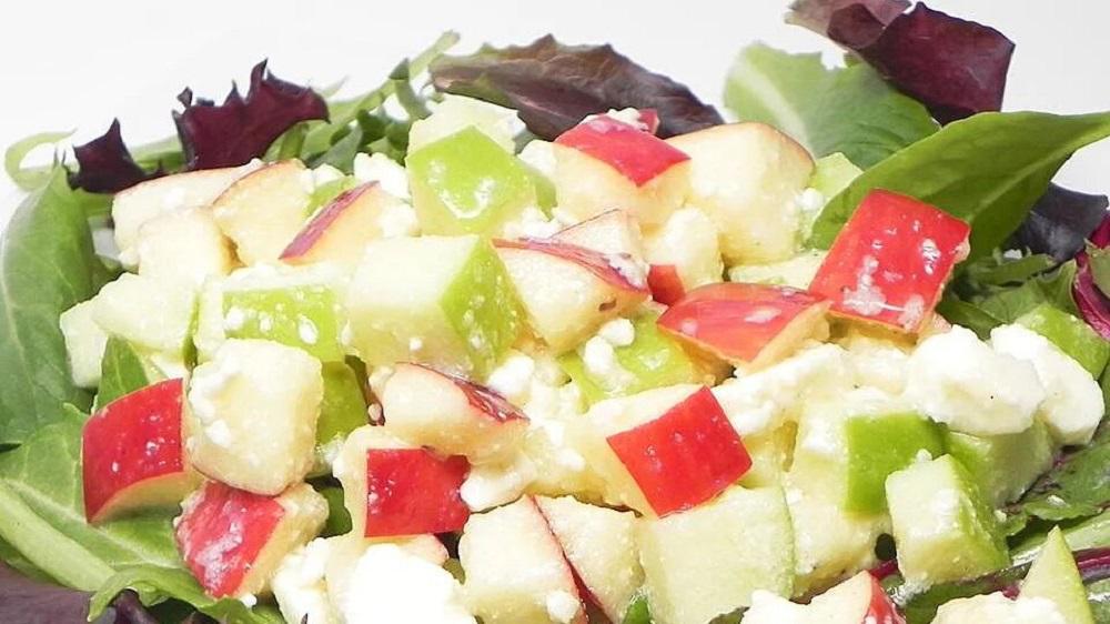 Кислосладкий салат 1